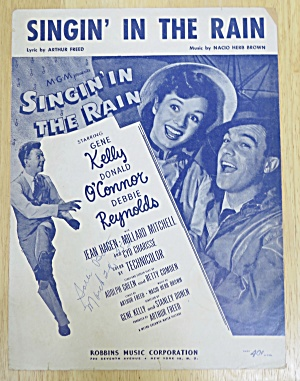 1932 Singin' In The Rain By Freed & Brown