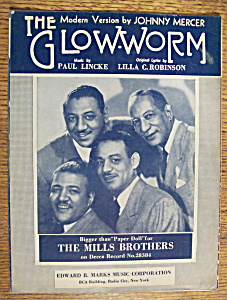 Sheet Music For 1952 The Glow-worm
