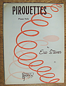 Sheet Music For 1964 Pirouettes