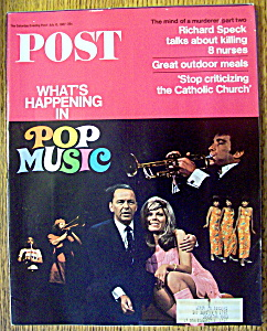 Saturday Evening Post Magazine-July 15, 1967-Pop Music (Image1)