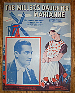 Sheet Music For 1937 The Miller's Daughter Marianne