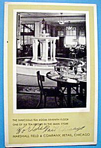 1933 Century of Progress, Narcissus Tea Room Postcard (Image1)