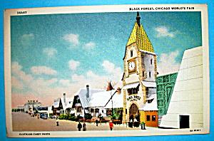 Black Forest Postcard (Century Of Progress) (Image1)