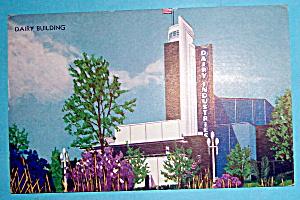 Postcard Of Dairy Building (1933 Century Of Progress) (Image1)