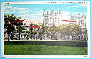 1933 Century of Progress, Harper Memorial Library (Image1)