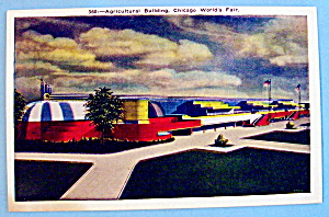 Agricultural Building Postcard (Chicago World's Fair) (Image1)
