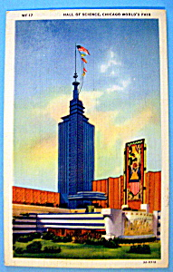 Hall Of Science Postcard (Chicago World's Fair) (Image1)