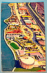 1933 Century of Progress, Midway Plaisance Postcard (Image1)
