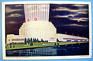 1933 Century of Progress, Ford Motor Co. Postcard (Image1)