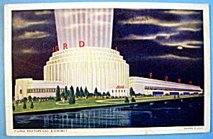 1933 Century of Progress, Ford Motor Co. Postcard (Image1)