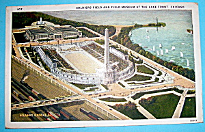 1933 Century of Progress, Soldier Field Postcard (Image1)