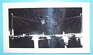 1933 Century of Progress, Sky Ride at Night Photograph (Image1)