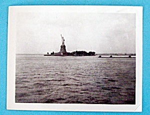 1939 Photograph Of The Statue of Liberty, New York (Image1)