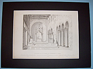 Basilique De St Marie In Cosmedin, A. Rome (Image1)