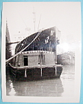 Click here to enlarge image and see more about item 10003: 1939 New York Central Tug Boat & Steamer Photograph