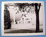 Click here to enlarge image and see more about item 10004: Photograph (Base Of Trylon & Perisphere)-New York Fair