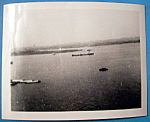 Click here to enlarge image and see more about item 10005: Photograph Of A View From The Statue Of Liberty (1939)