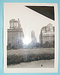 Click here to enlarge image and see more about item 10009: Vintage Photograph - 1939 Battery Park, New York City