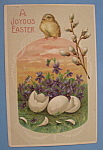Click here to enlarge image and see more about item 10018: Joyous Easter Postcard