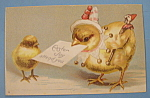 Click here to enlarge image and see more about item 10019: Easter Joy Postcard