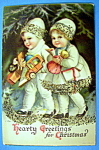 Hearty Greeting for Christmas Postcard