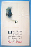 Click here to enlarge image and see more about item 10098: New Years Postcard