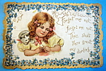 Click here to enlarge image and see more about item 10120: Forget Me Not Postcard