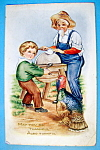 Click here to enlarge image and see more about item 10148: May You Be Thankful Postcard