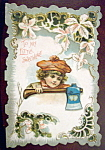 Click here to enlarge image and see more about item 10185: Greeting Card Of To My Little Sweetheart