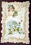 Click here to enlarge image and see more about item 10186: To One I Love Greeting Card