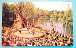 Click here to enlarge image and see more about item 10213: Frontierland Indian Village Postcard