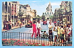 Click here to enlarge image and see more about item 10214: Main Street U.S.A. Postcard