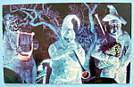 Click to view larger image of The Haunted Mansion Postcard (Image1)