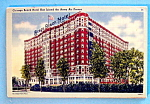 Click here to enlarge image and see more about item 10219: Chicago Beach Hotel Postcard (Chicago Hotel)