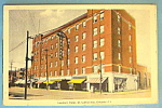 Click here to enlarge image and see more about item 10228: Leonard Hotel, St. Catherines, Ontario Postcard