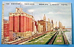 The Stevens Hotel, Chicago Postcard