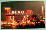 Click to view larger image of Reno Arch Postcard (Image1)