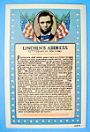 Click here to enlarge image and see more about item 10271: Lincoln Address Postcard