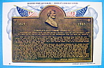 Click here to enlarge image and see more about item 10272: Linocln's Gettysburg Address Souvenir Postcard