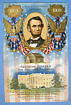 Click here to enlarge image and see more about item 10284: Abraham Lincoln Centennial Postcard (The Martyred)