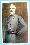 Click to view larger image of General Robert E. Lee Postcard (Image1)