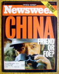 Newsweek Magazine-April 1, 1996-China: Friend Or Foe?