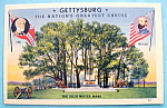 Click to view larger image of Gettysburg (Nation's Greatest Shrine) Postcard (Image1)