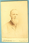 Click here to enlarge image and see more about item 10363: Cabinet Photo of a Bearded Man - Peter Hensel