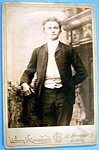 Click here to enlarge image and see more about item 10367: Maestro, Please - Cabinet Photo of a Man