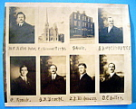 Click here to enlarge image and see more about item 10422: St. Andrew's Ev. Church & School Faculty - Chicago, IL