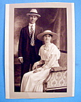 Click here to enlarge image and see more about item 10437: Would You Marry Me - Cabinet Photo of an Engaged Couple