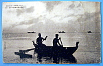 Click here to enlarge image and see more about item 10453: Kanu Sip Saipan Islet Postcard