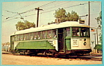 San Francisco Municipal Railway Trolley Postcard