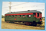 Click here to enlarge image and see more about item 10498: Car 411 CNSM Observation Car Postcard